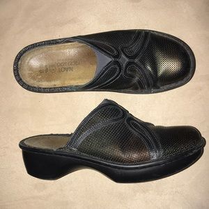 Naot Leather Mules